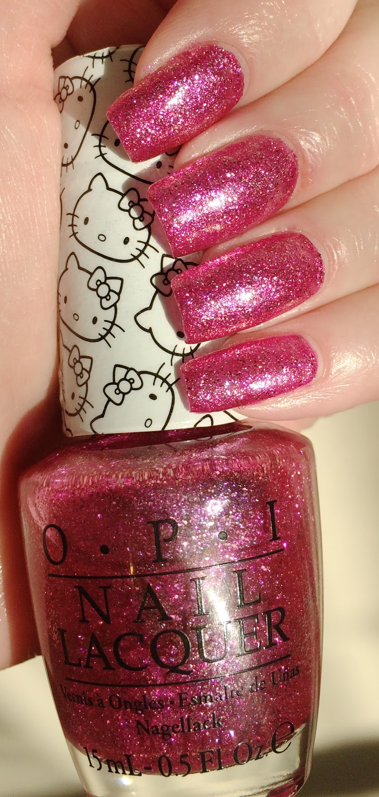 Maries Manor Hello Kitty: Blue Skies For Me Please: OPI's Hello Kitty Starry-Eyed