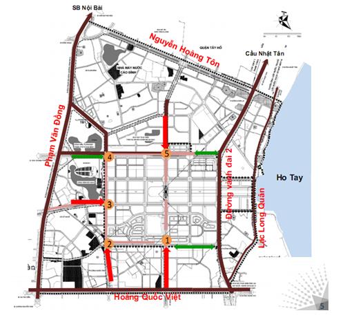 Giới thiệu đường vào khu đô thị Tây Hồ Tây