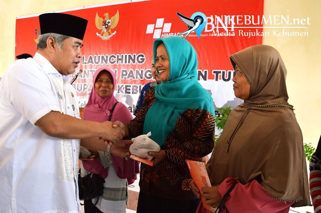 Program BNPT untuk  118.235 Keluarga di Kebumen Resmi Diluncurkan