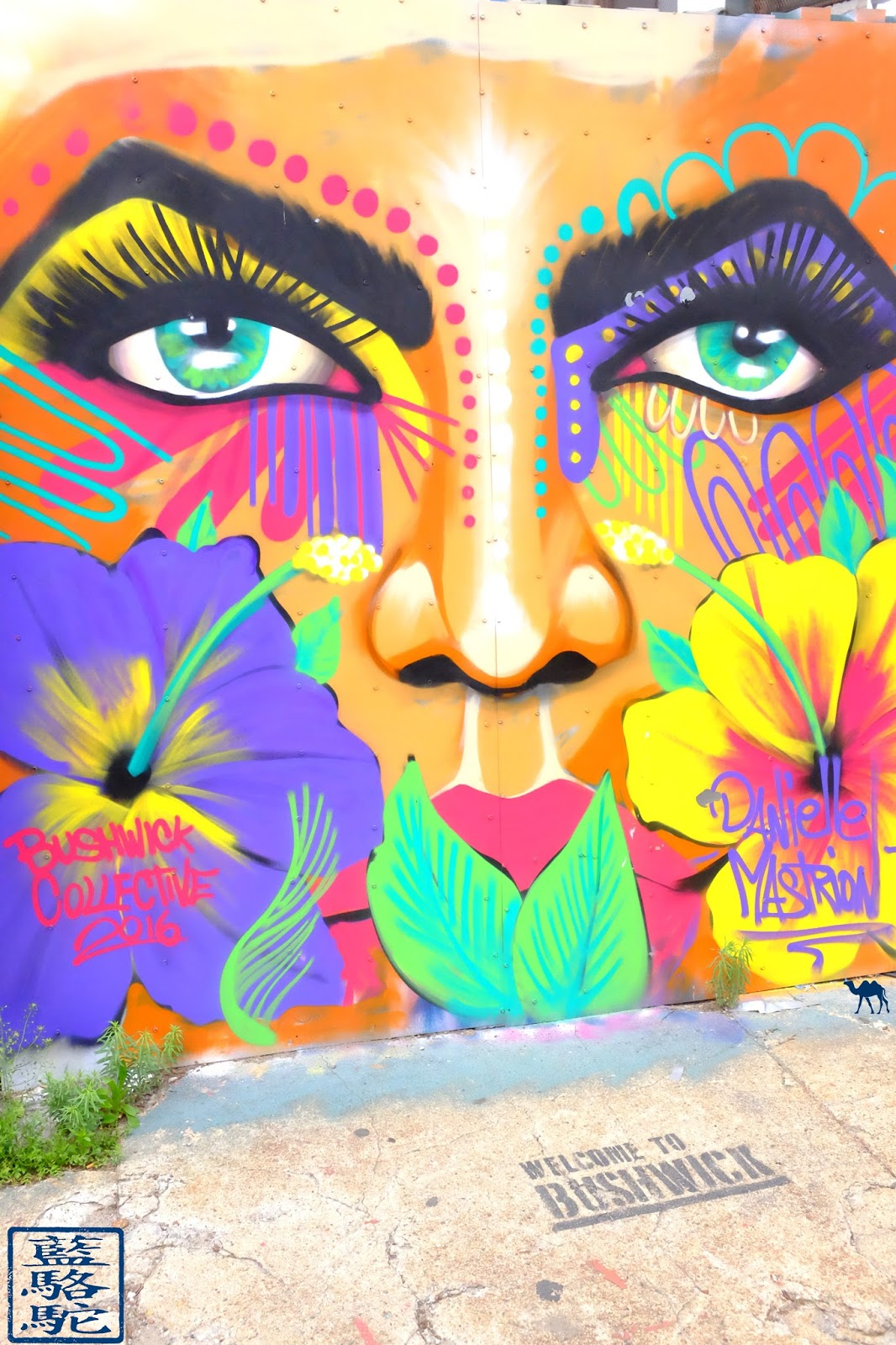 Le Chameau Bleu - Voyage à New York - Balade à Bushwick sur fond de Street Art