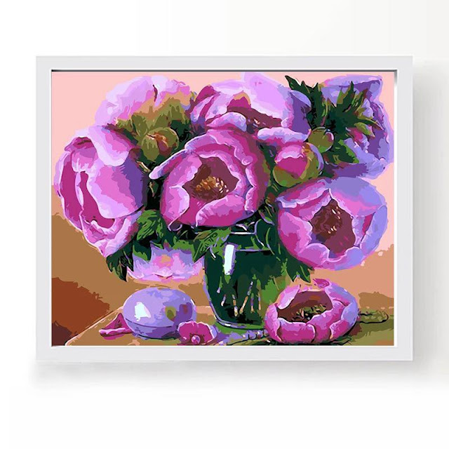 Tranh son dau so hoa tai Cat Linh