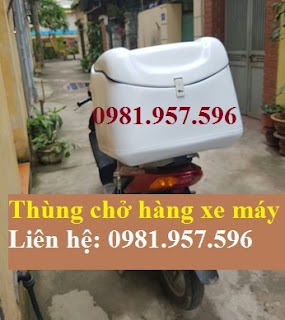 Thùng chở hàng xe máy