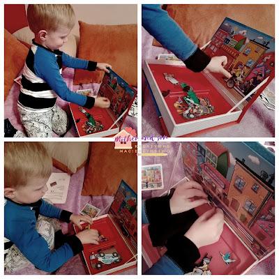 """Puzzle magnetyczne """"Na ulicy"""" od Alexander Toys - nasza recenzja."""