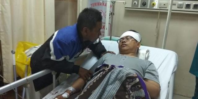 Seorang Ustaz di Tangerang Dibacok