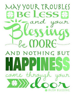 Happy St Patrick's day blessings