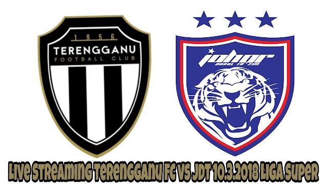 Live Streaming Terengganu FC vs JDT 10.3.2018 Liga Super