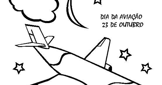 Moldes De Aviao Para Imprimir: PINTANDO O SETE: DIA DA AVIAÇÃO DESENHOS EXERCÍCIOS
