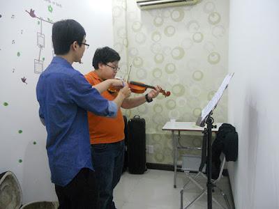Làm thế nào để không nản khi học đàn violin