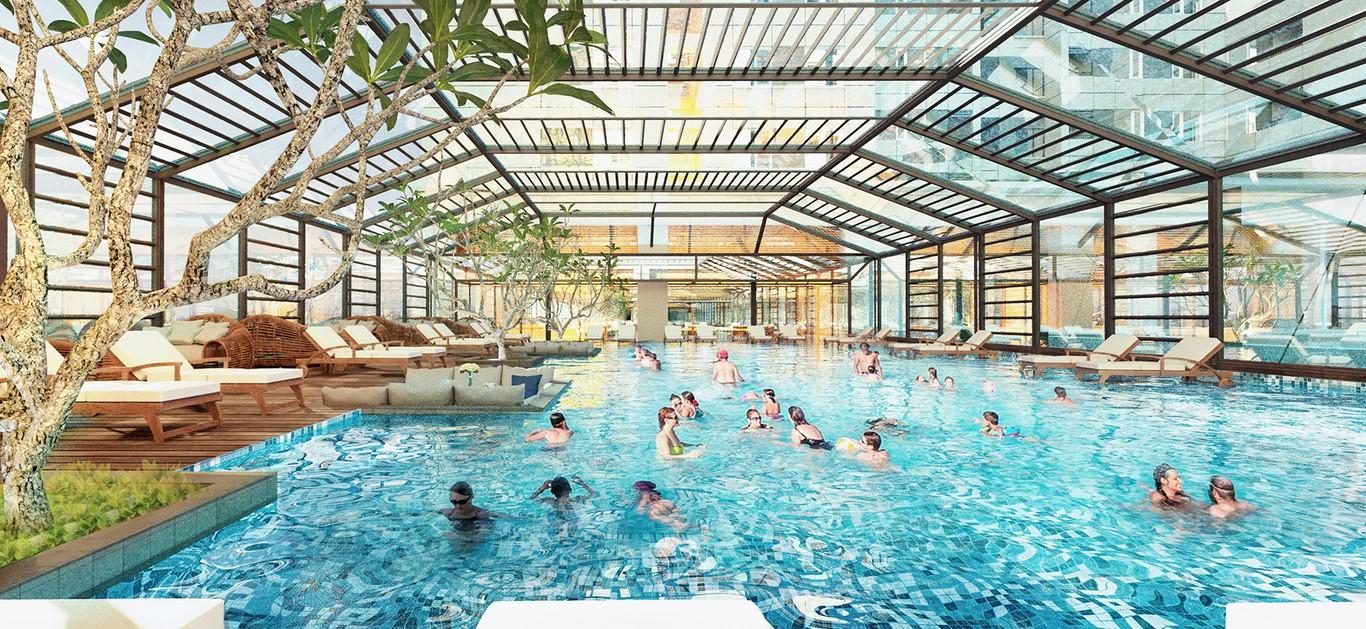 Bể bơi bốn mùa