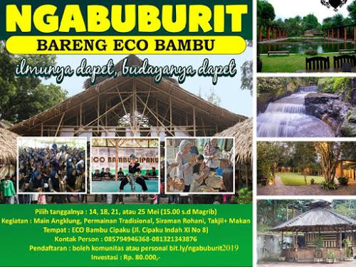 Bukber ECO Bambu Cipaku