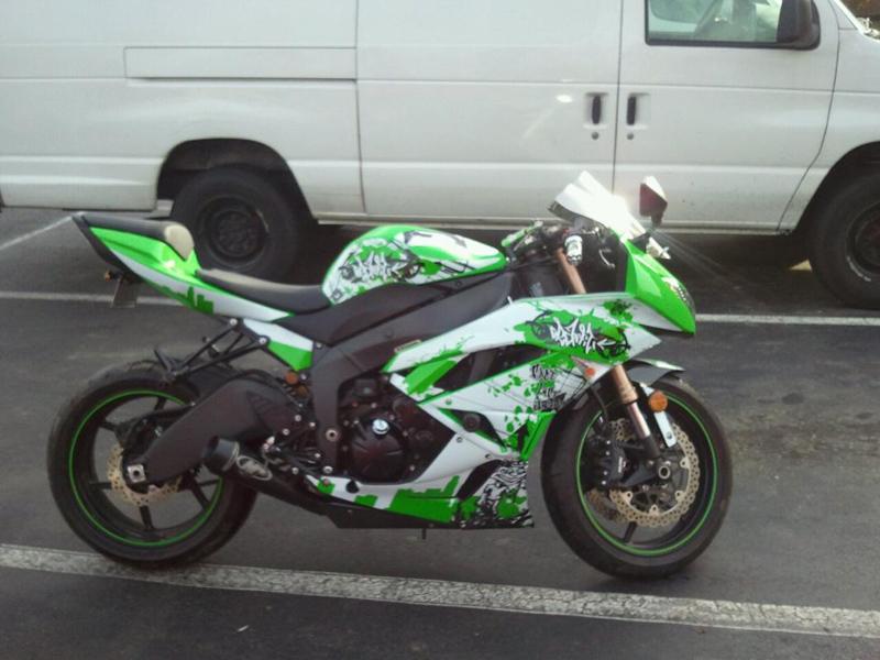 Motorku Ninja Foto Modifikasi Kawasaki Ninja Zx 6r Terbaru Cb