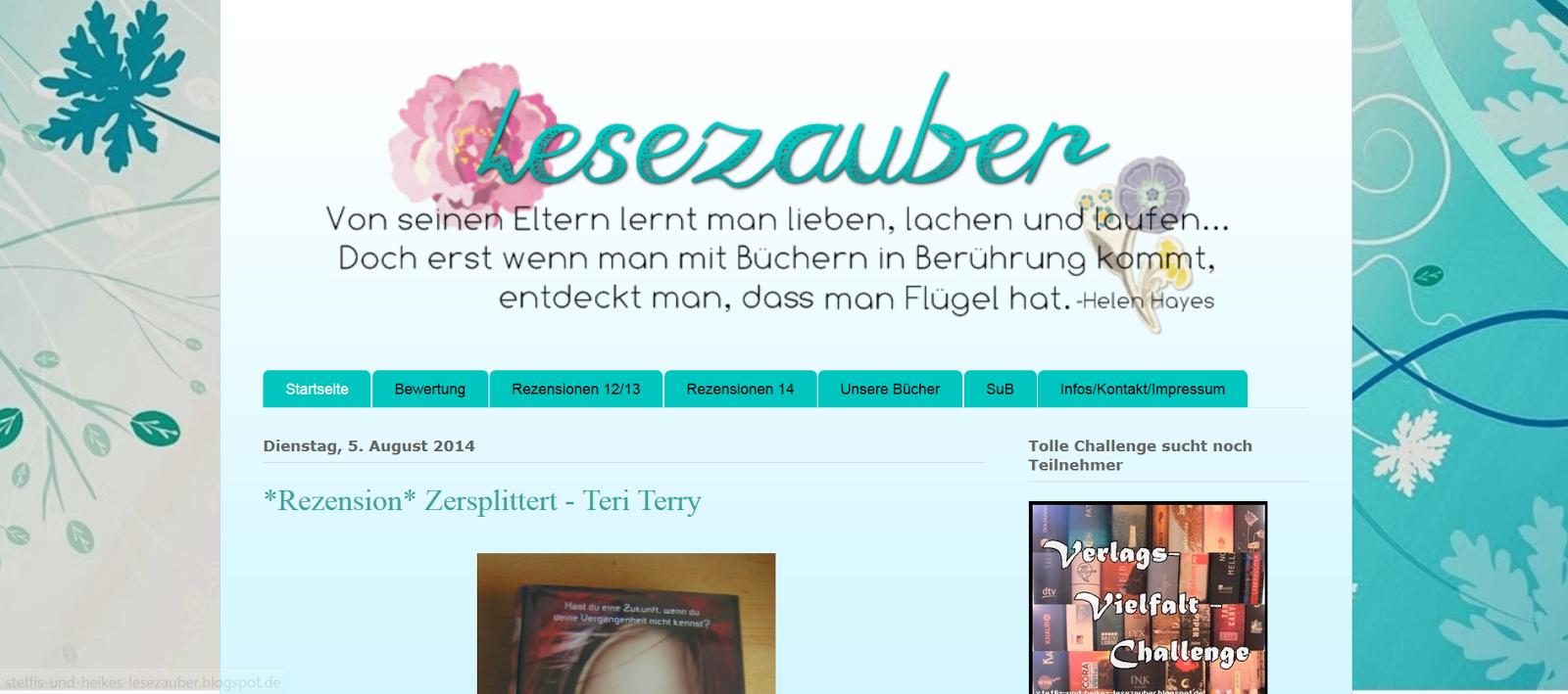 http://steffis-und-heikes-lesezauber.blogspot.de/