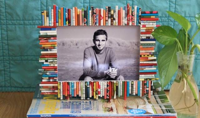 Cara Membuat Bingkai Foto dari Koran Bekas