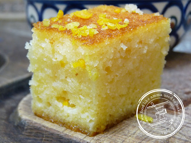 Semolina Cake Recipe Food Like Amma Used To Make It