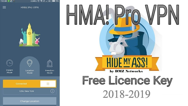 HMA PRO VPN LICENSE KEY FREE 2018