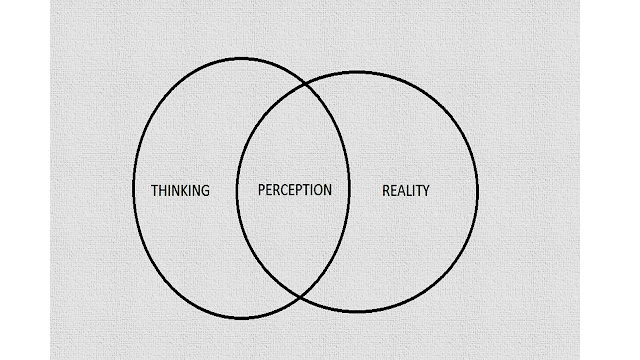 thinking, perception and reality