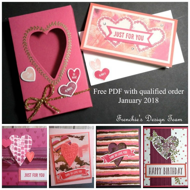 Customer Appreciation PDF, Stampin UP, Free