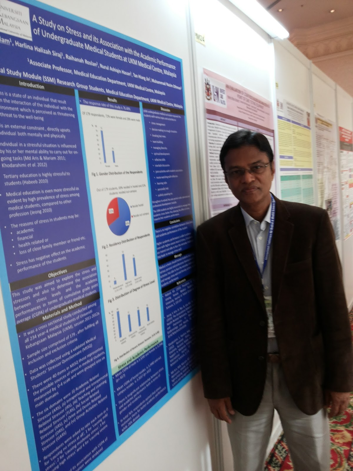 A Study on Stress and Academic Performance, ICMHS, 2013, Malaysia