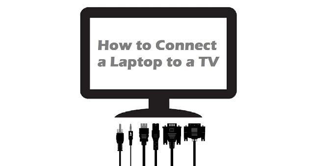 how to connect laptop to television screen