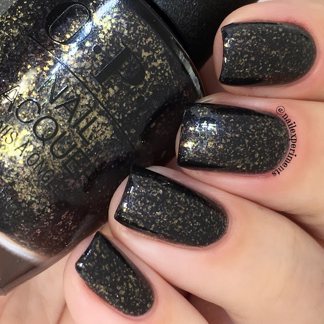 opi top the package with a beau swatch