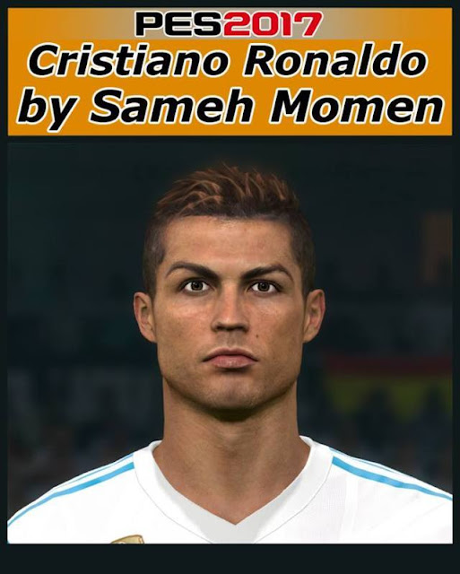 PES 2017 Ronaldo Converted from PES 2018