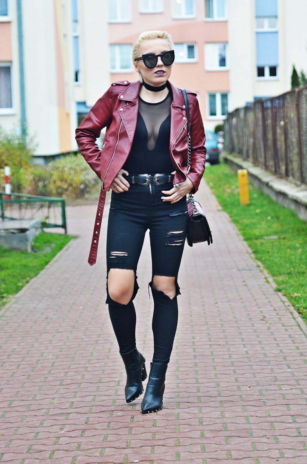 czarny_choker_sliwkowa_szminka_blog_modowy_karyn