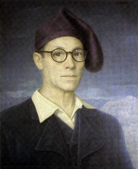 Miguel Viladrich Vilá, Portraits of Painters, Self Portrait