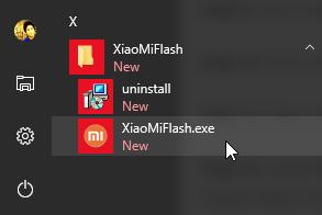 Buka Xiaomi Mi Flash Tool