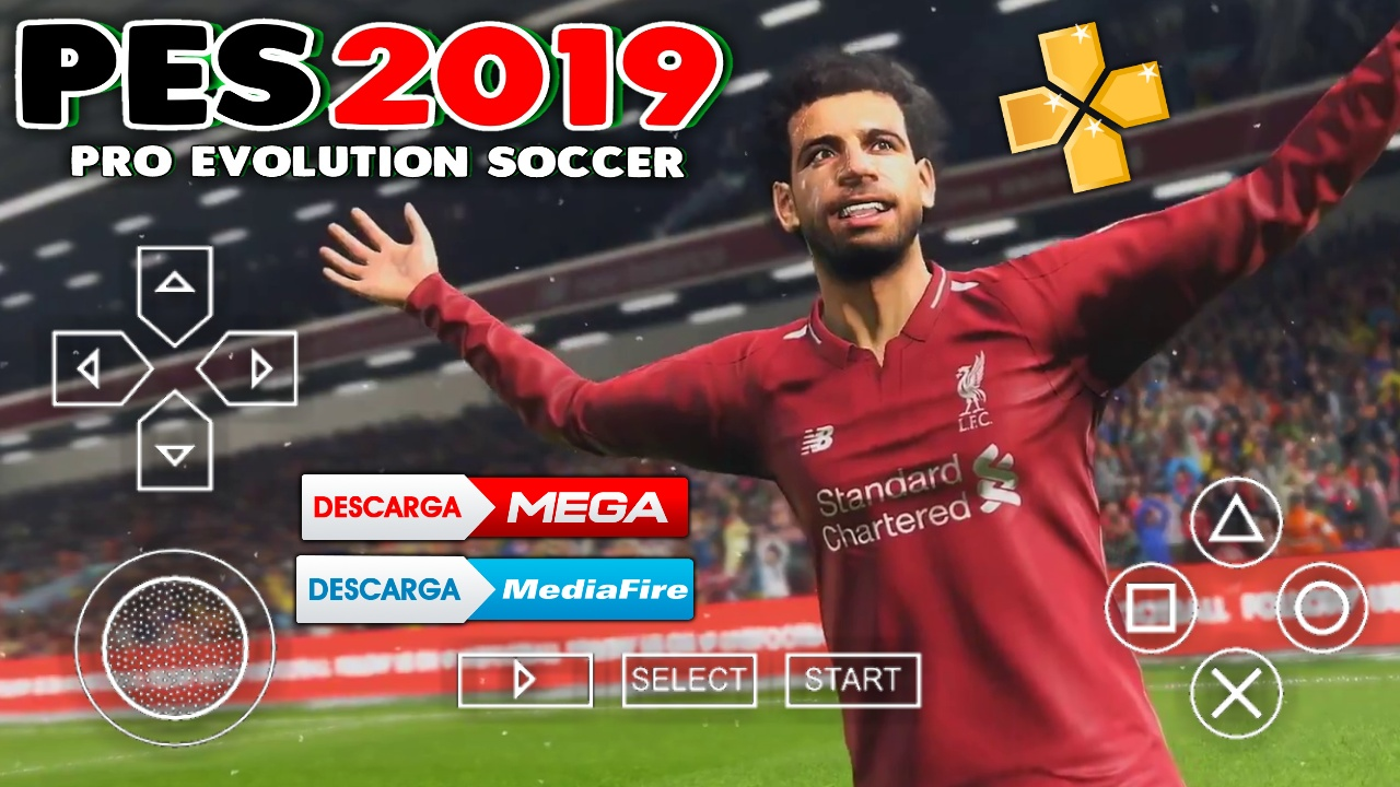 DESCARGA PES 2019 EMULADOR PARA PPSSPP SUPER