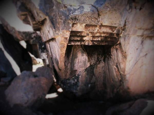 Las enigmáticas escaleras al revés en Sacsayhuamán. ¿Cataclismo o la ira de los «titanes»?