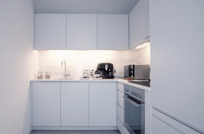Minimalist Kitchen Design Serba Putihtrendir.com