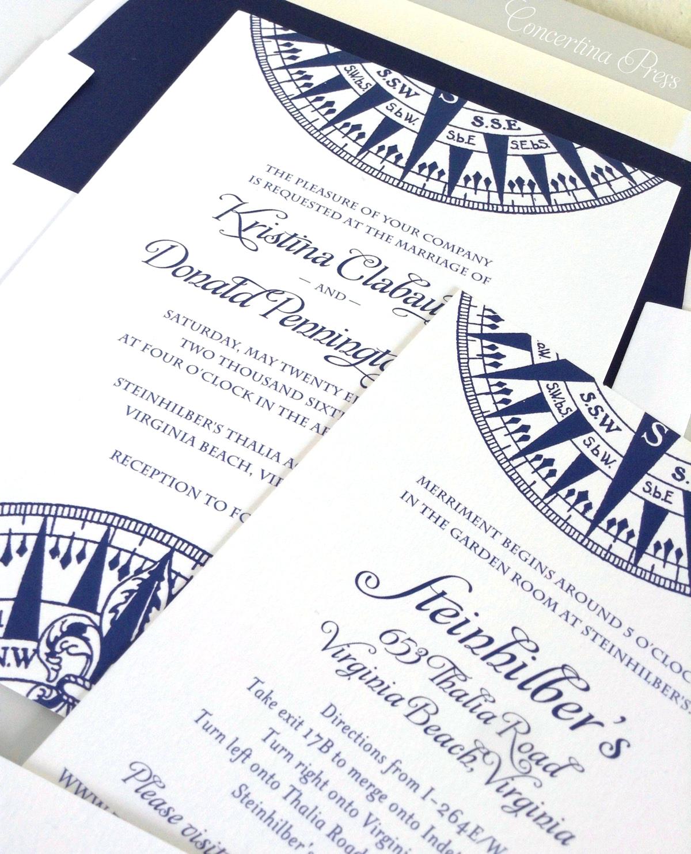 Concertina Press - Stationery and Invitations: Nautical Wedding ...