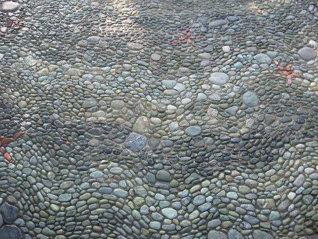 Jeffrey Bale' World Of Gardens Braided Rivers Project; Beauty Stone