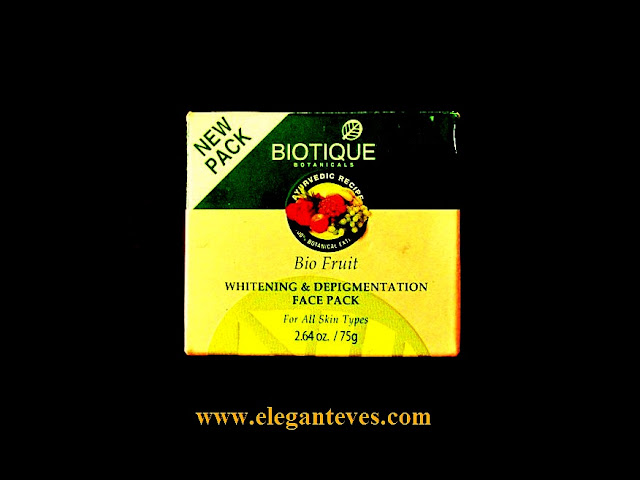 Bitotique whitening & depigmentation face pack