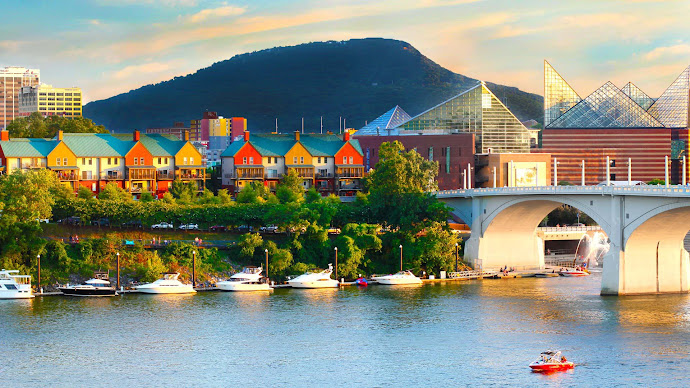 Wallpaper: View of Chattanooga
