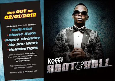 Koffi's 5th album, Root&Roll, due out January 2nd 2012 1