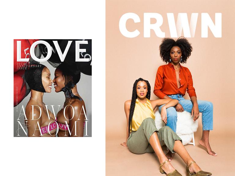 Naomi Campbell Crwn Magazine