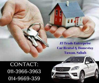 Tawau Car Rental and Homestay