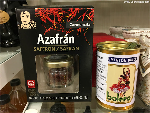 Pimentón y Azafrán Español en los Comercios de Massachusetts