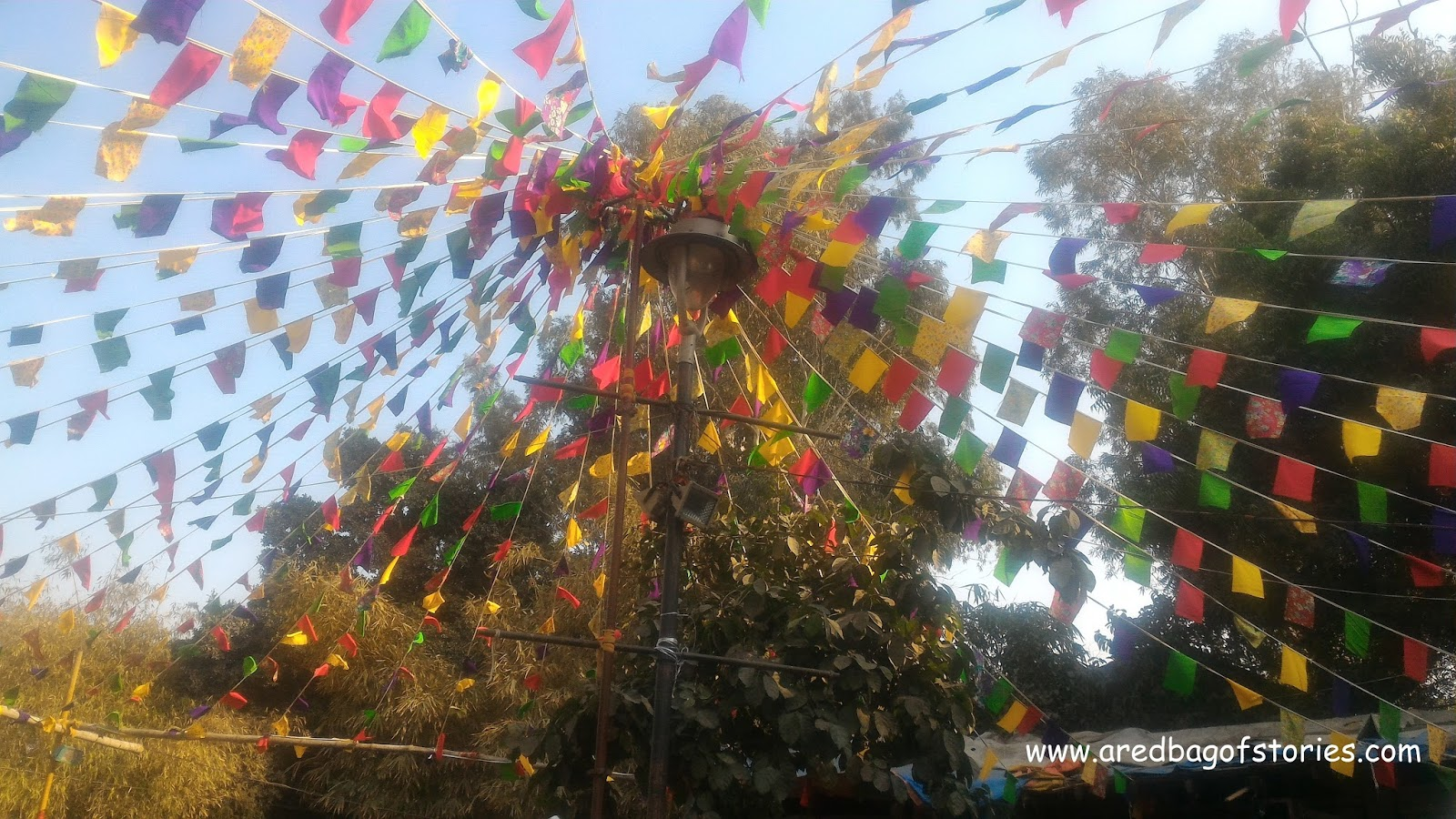 A Sunny Winter Afternoon Soaked In Colors Of Dilli Haat | A