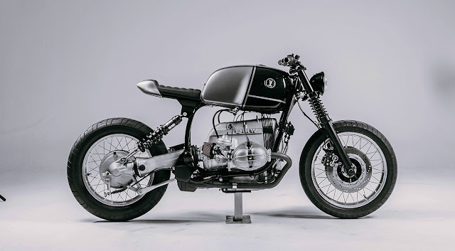 BMW R100R By Vagabund Moto Hell Kustom
