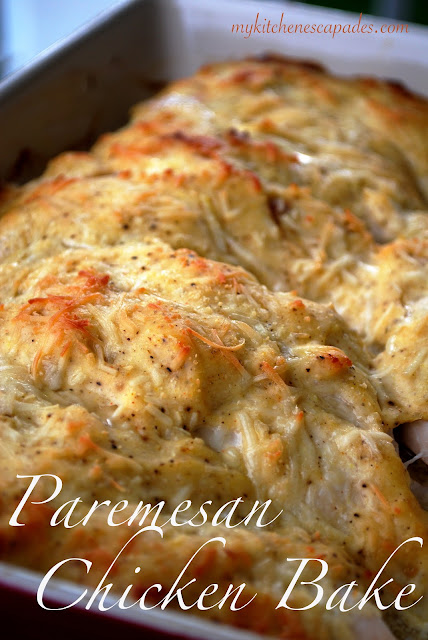 Parmesan Chicken Bake The Best Cheesy Baked Chicken Breasts