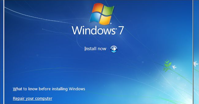 repair your computer windows 7 version
