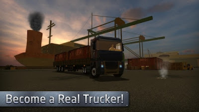 Euro Truck Driver Apk v1.0.0 (Mod Money)-screenshot-1