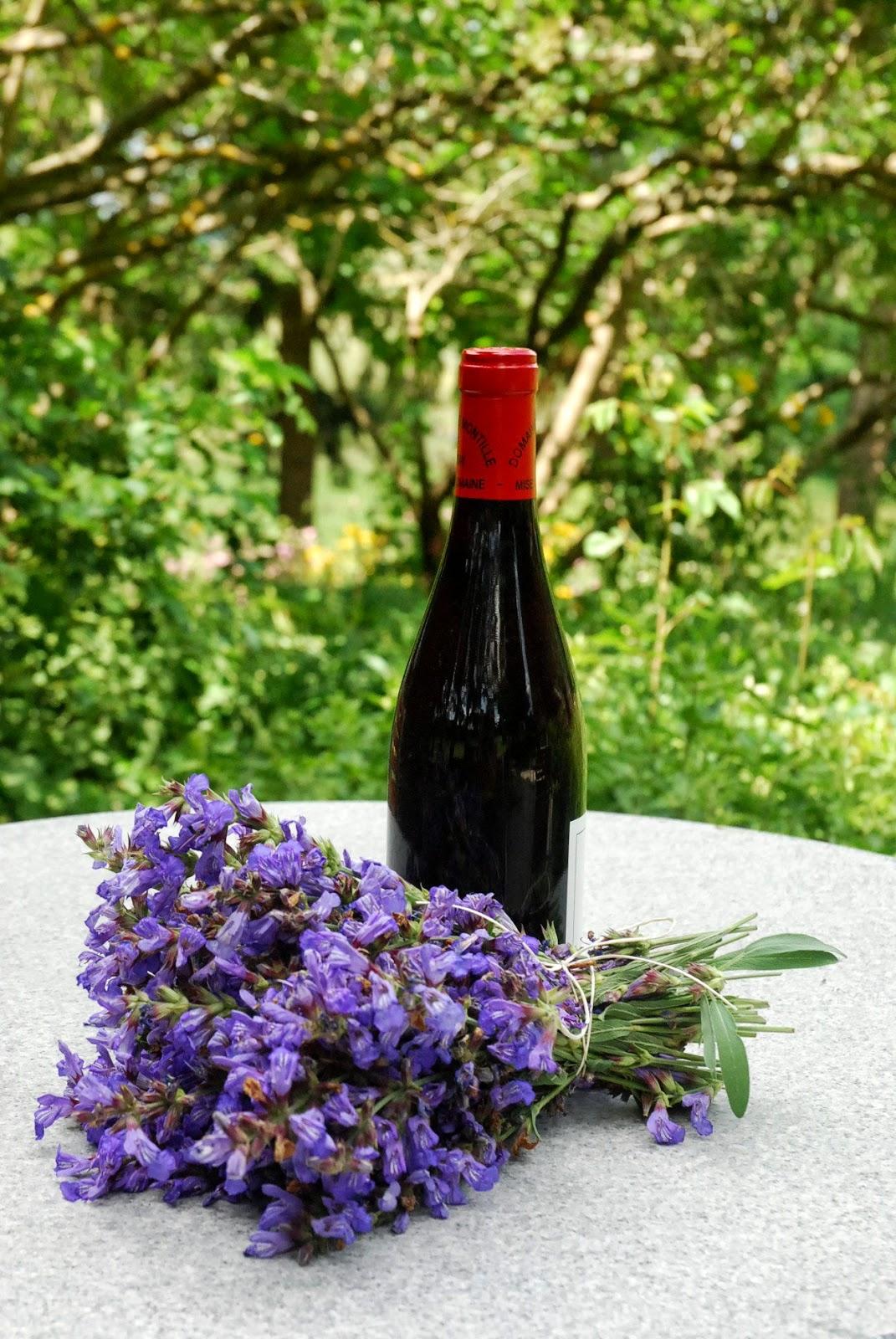 De confituren van marleen wijn met de bloempjes van salie - Ventilatie grot een vin ...
