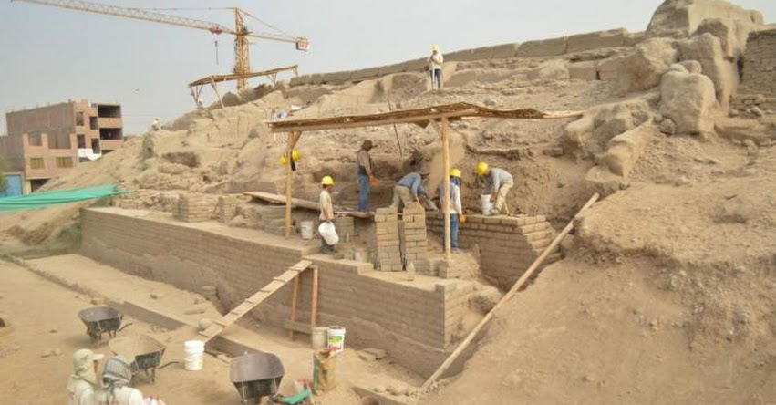 Inician labores para puesta en valor de zona arqueológica en Santa Anita