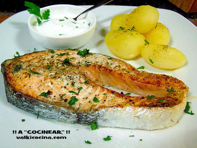 salmón al horno fácil