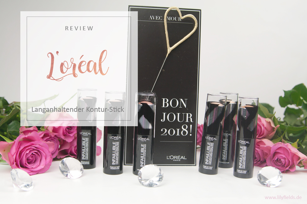 L'Oreal - Infaillible Kontur-Stick Foundation