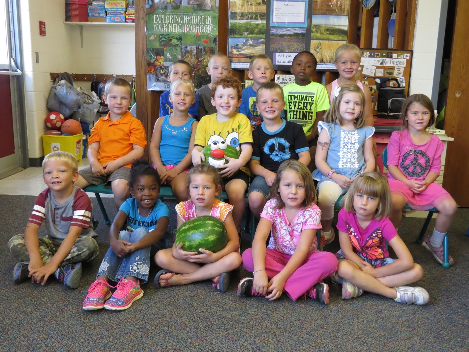 Kindergarten Rocks Wacky Watermelon Wednesday