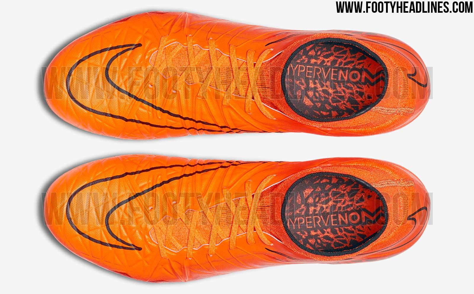 Orange Nike Hypervenom 2 2015 Boot Released - Footy Headlines